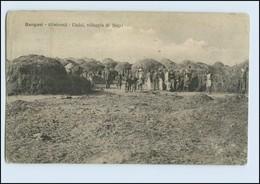 W8C68/ Bengasi Libyen Uadai, Villaggio Di Negri AK Afrika 1912 - Ansichtskarten