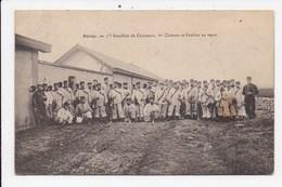 CPA MILITARIA 55 STENAY Bataillon De Chasseurs Clairons Et Fanfare Au Repos - Régiments