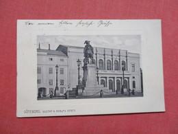 Goteboorg  Gustal II Adolfs   Sweden- Has Stamp & Cancel    Ref 3425 - Sweden