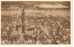 ANVERS --  Vue Aérienne - Cathédrale - Grand'Place - L'Escaut Et Rive Gauche - Antwerpen