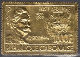 PA N° 41 Du Gabon - X X - ( E 1431 ) - ( Verso Taché ) - Albert Schweitzer