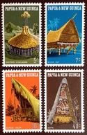 Papua New Guinea 1971 Native Huts MNH - Papouasie-Nouvelle-Guinée