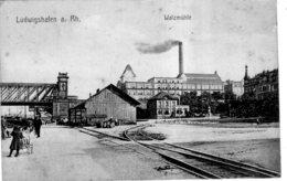 LUDWIGSHAFEN A. RH WALZMUHLE 1918 TBE - Ludwigshafen