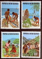 Papua New Guinea 1971 Primary Industries MNH - Papouasie-Nouvelle-Guinée