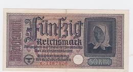 Billet De 50 Reischmark Pick R140 De 1940_45 - [ 4] 1933-1945: Derde Rijk