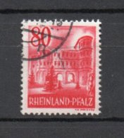 Rheinland-Pfalz  40  Gestempelt - Zona Francesa