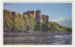 Ayrshire -   Culzean Castle  -  Showing The Caves - Ayrshire