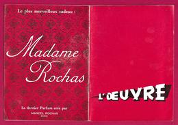 Livret Programme Du Théâtre De L'Œuvre - La Guerre Civile D'Henry De Monterlant - Années 1965 - Programs