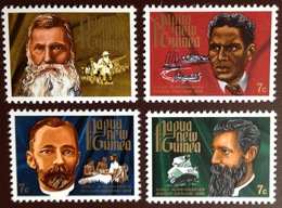 Papua New Guinea 1972 Christmas Missionaries MNH - Papouasie-Nouvelle-Guinée