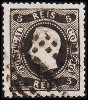 1867. Luis I. 5 REIS. (Michel 25) - JF304223 - 1853 : D.Maria