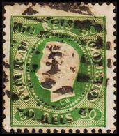 1868. Luis I. 50 REIS.  (Michel 29) - JF304226 - 1853 : D.Maria