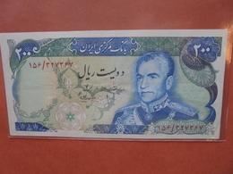 IRAN 200 RIALS 1974-79 PEU CIRCULER (SIGNATURE N°16) (B.4) - Iran