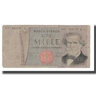 Billet, Italie, 1000 Lire, 1969-1981, KM:101a, B - 1000 Lire