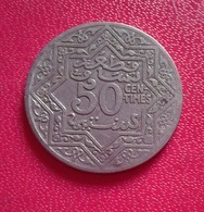 Maroc, Yusuf, 50 Centimes, Undated   (B4 - 26) - Marruecos