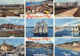 14-DEAUVILLE TROUVILLE-N°3734-D/0101 - Deauville