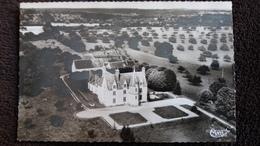 CPSM ST JEAN PIERRE FIXTE 28 MANOIR DE PRAINVILLE XVI EME VUE AERIENNE 1962 ED CIM - France