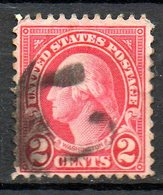 USA. N°229 Oblitéré De 1922-25. G. Washington. - George Washington