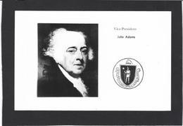 CPSM Maçonnique Circulé Masonic Franc Maçonnerie Franc Maçon John ADAMS - Filosofia & Pensatori