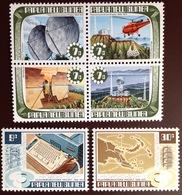 Papua New Guinea 1973 Telecommunications Aviation MNH - Papouasie-Nouvelle-Guinée