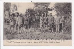 CPA MILITARIA Front Nord Quartier Général Des Indiens - Guerre 1914-18