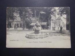 Carte Postale  - AIX EN PROVENCE (13) - Fontaine D'eau Chaude - (1781/1000) - Aix En Provence