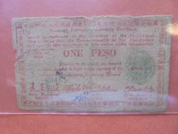 PHILIPINNES 1 PESO 1944 CIRCULER (B.4) - Philippines
