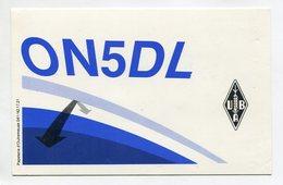 QSL RADIO AMATEUR CARD 1987 ON5DL LORCE BELGIUM D34 - Radio Amateur