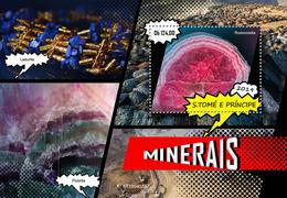 St.Tome &Principe.  2019 Minerals. (0401b)  OFFICIAL ISSUE - São Tomé Und Príncipe