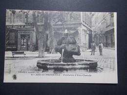 Carte Postale  - AIX EN PROVENCE (13) - Fontaine D'eau Chaude - 1916 (1783/1000) - Aix En Provence