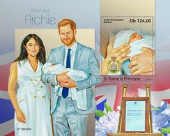 St.Tome &Principe.  2019 Royal Baby. (0415b)  OFFICIAL ISSUE - São Tomé Und Príncipe