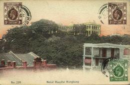 China, HONG KONG, Naval Hospital (1922) Postcard - China (Hong Kong)