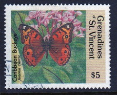 St.Vincent & Grenadines 1989 Single $5 Stamp From The Butterflies Set. - St.Vincent & Grenadines