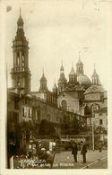 Cpsm ZARAGOZA El Pilar Desde La Ribera - Zaragoza
