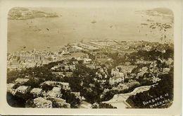 China, HONG KONG, Harbour Scene (1910s) RPPC Postcard - China (Hong Kong)