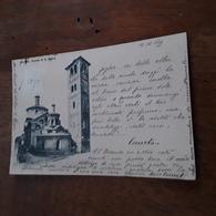 Cartolina Postale 1899, Milano Chiesa Di S. Satiro - Milano