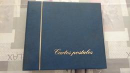 Album Pour Cartes Postales CPA Avec 30 Pages Recto Verso. - Supplies And Equipment