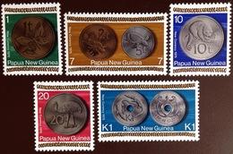 Papua New Guinea 1975 Coinage MNH - Papouasie-Nouvelle-Guinée