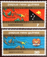 Papua New Guinea 1975 Independence MNH - Papouasie-Nouvelle-Guinée