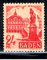 A2 755 // YVERT 16 // 1947-48 - Zone Française