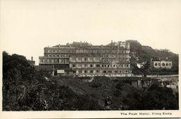 China, HONG KONG, The Peak Hotel (1920s) Lee Fong RPPC Postcard - China (Hong Kong)