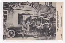 CPA MILITARIA Blessés Allemands Transportés Dans Un Hopital Français - Guerre 1914-18