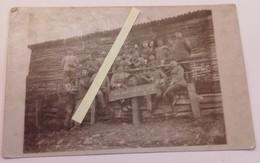 1916 Argonne Lotharingie Villa Allemande 1 Lothr Feld Art Regt 33 Inf Division Poilus Tranchée 14-18 1914-1918 WW1 1WK - Krieg, Militär