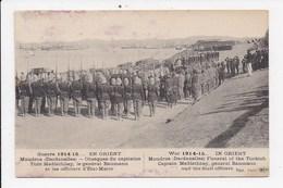 CPA MILITARIA EN ORIENT MOUDROS Obseques Du Capitaine Turc Medfathbey - Guerre 1914-18