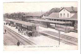 Mirecourt  (88 - Vosges)  Vue Générale De La Gare - Mirecourt