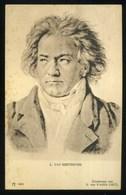 L. VAN BEETHOVEN - A 1465 Ediz. Ackermann's Kunstverlag Serie 117-12 - Cantanti E Musicisti
