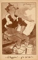 Franchise Militaire FM F.M. - Guerre 39/45 WW2 - Illustrateur Joe BRIDGE - Guerre 1939-45