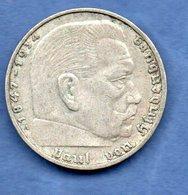 Allemagne  - 2 Reichsmark 1938 A --  état  TTB - 2 Reichsmark