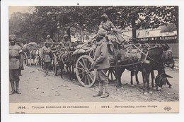 CPA MILITARIA Troupes Indiennes De Ravitaillement - War 1914-18