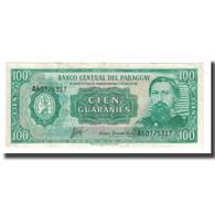 Billet, Paraguay, 100 Guaranies, L1952 (1982), KM:205, SUP - Paraguay