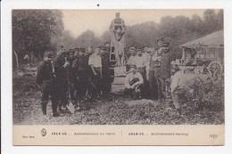 CPA MILITARIA Ambulanciers Au Repos - Guerre 1914-18